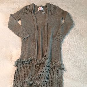 Long sweater for kids